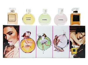 Nabor 5 in 1 Chanel Parfume