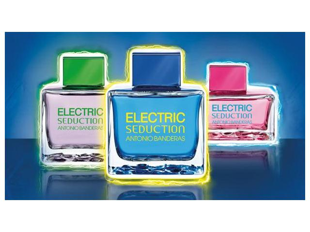 antonio banderas electric blue seduction for men